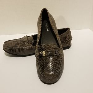 COACH Olive loafers